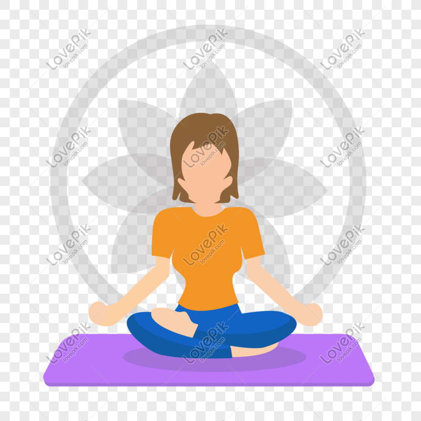 Doing Yoga People Vector Free Illustration Png Image Picture Free Download 610220533 Lovepik Com