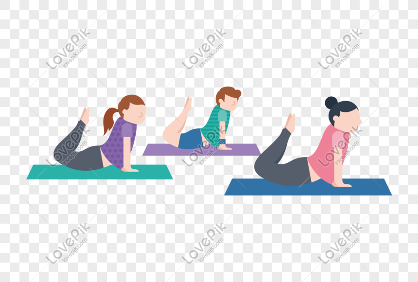 Vector Flat Squat On Yoga Mat For Free 抠png Png Image Picture Free Download 610221372 Lovepik Com