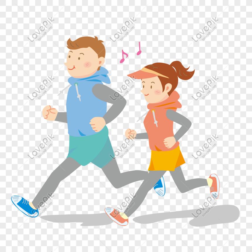 Download 810  Gambar Animasi Orang Lari Pagi  Gratis