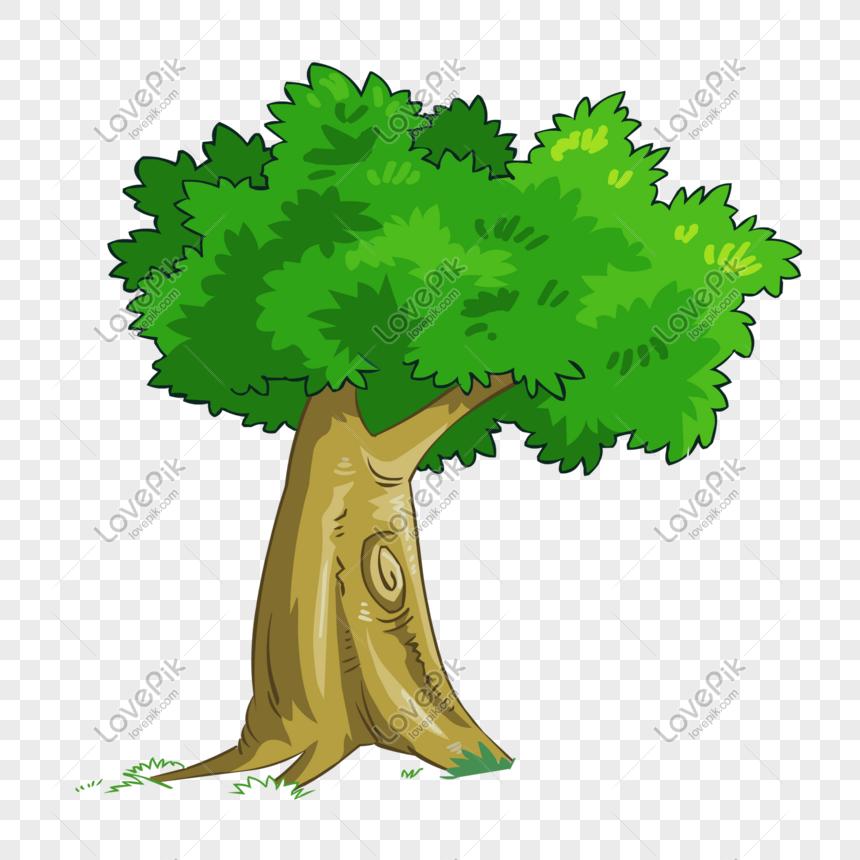Dibujos Animados De Hojas Nuevas Arboles Verde Imagen Descargarprf