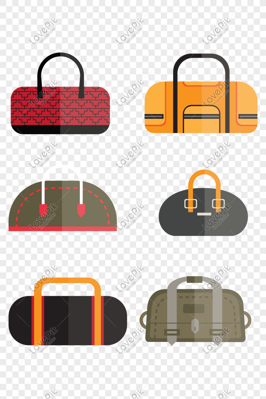 Vector Hand Drawn Travel Bag Free Png Image Picture Free Download 610309889 Lovepik Com