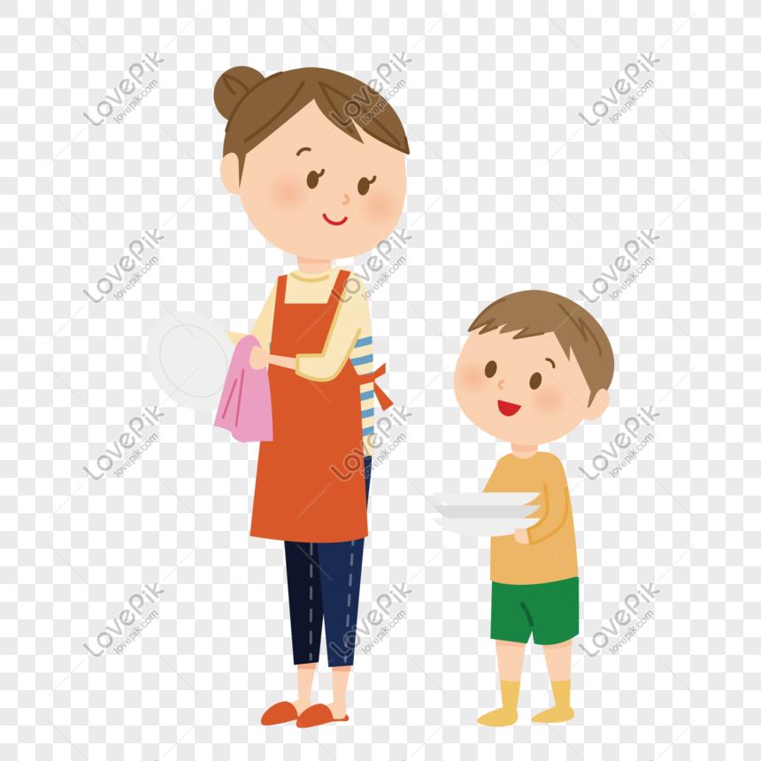Tangan Ibu Kartun Warna Yang Disediakan Membantu Ibu Mencuci Pir Gambar Unduh Gratis Imej 610318572 Format Psd My Lovepik Com