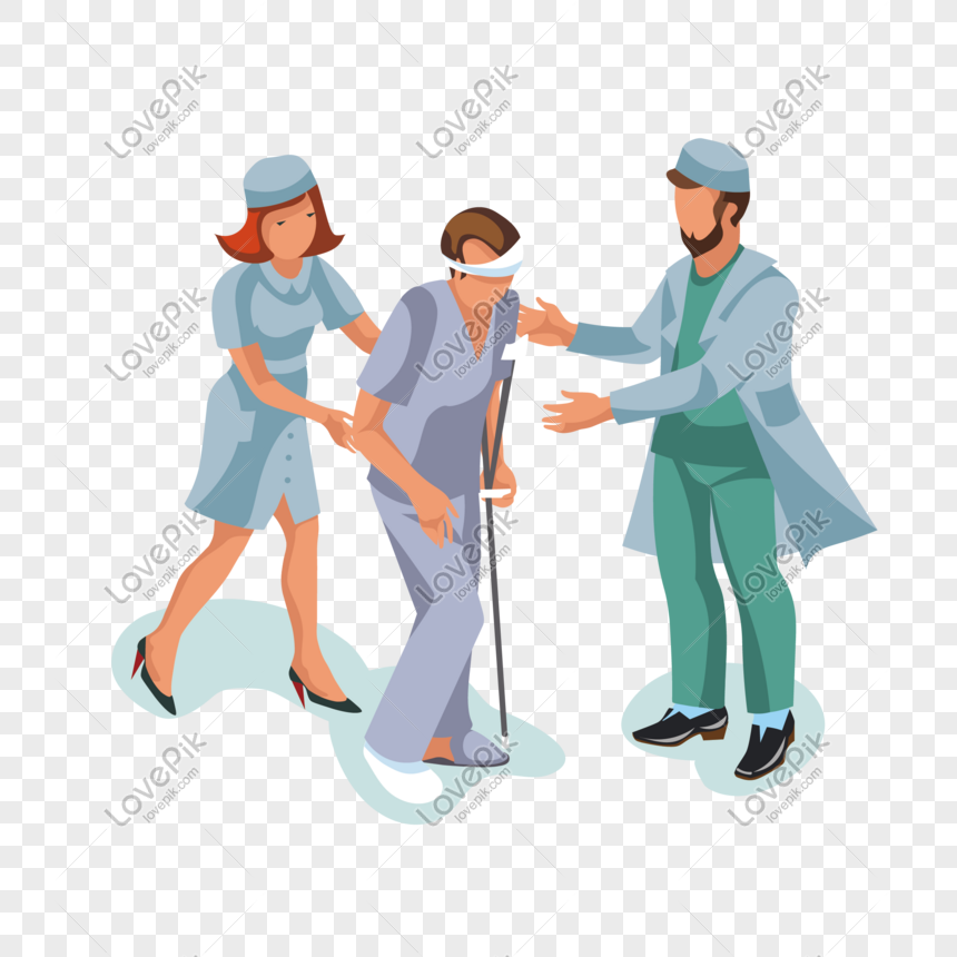 cartoon doctor holding nurse patient vector material png image picture free download 610353658 lovepik com cartoon doctor holding nurse patient