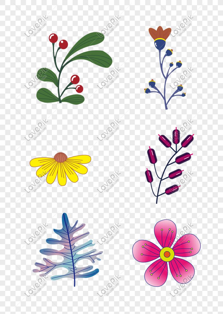 Bunga Berwarna Hijau Terang Gambar Unduh Gratis Imej
