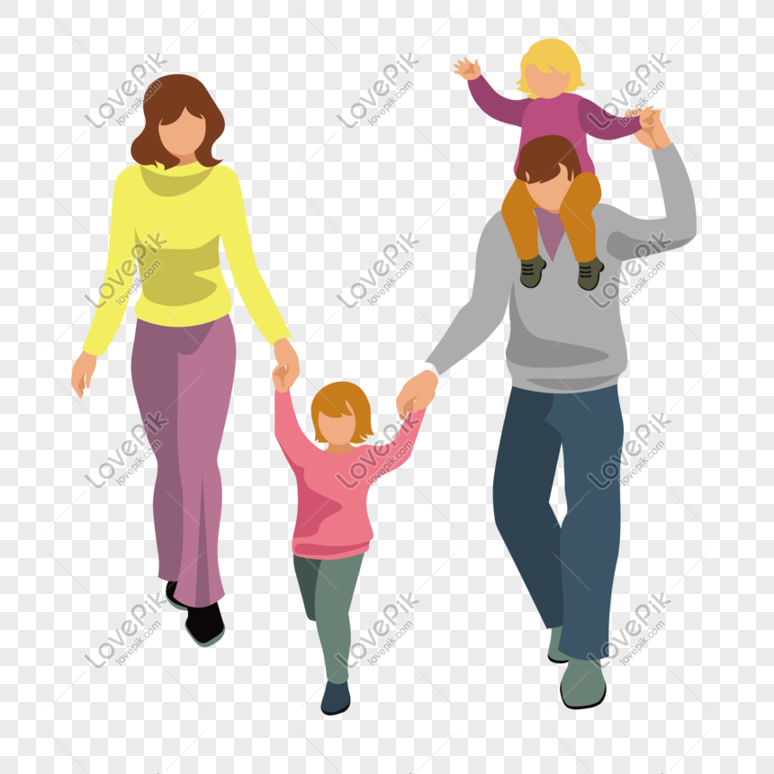 Cartoon Happy Family Vector Material Png Image Picture Free Download 610428723 Lovepik Com