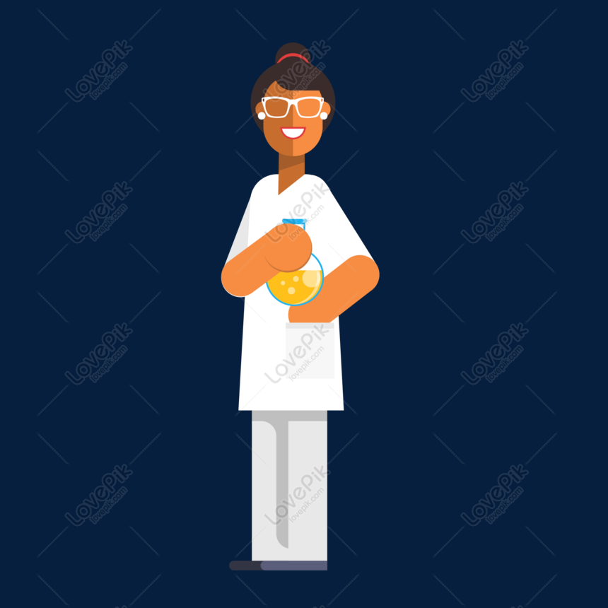 cartoon scientist vector material png image picture free download 610436500 lovepik com lovepik