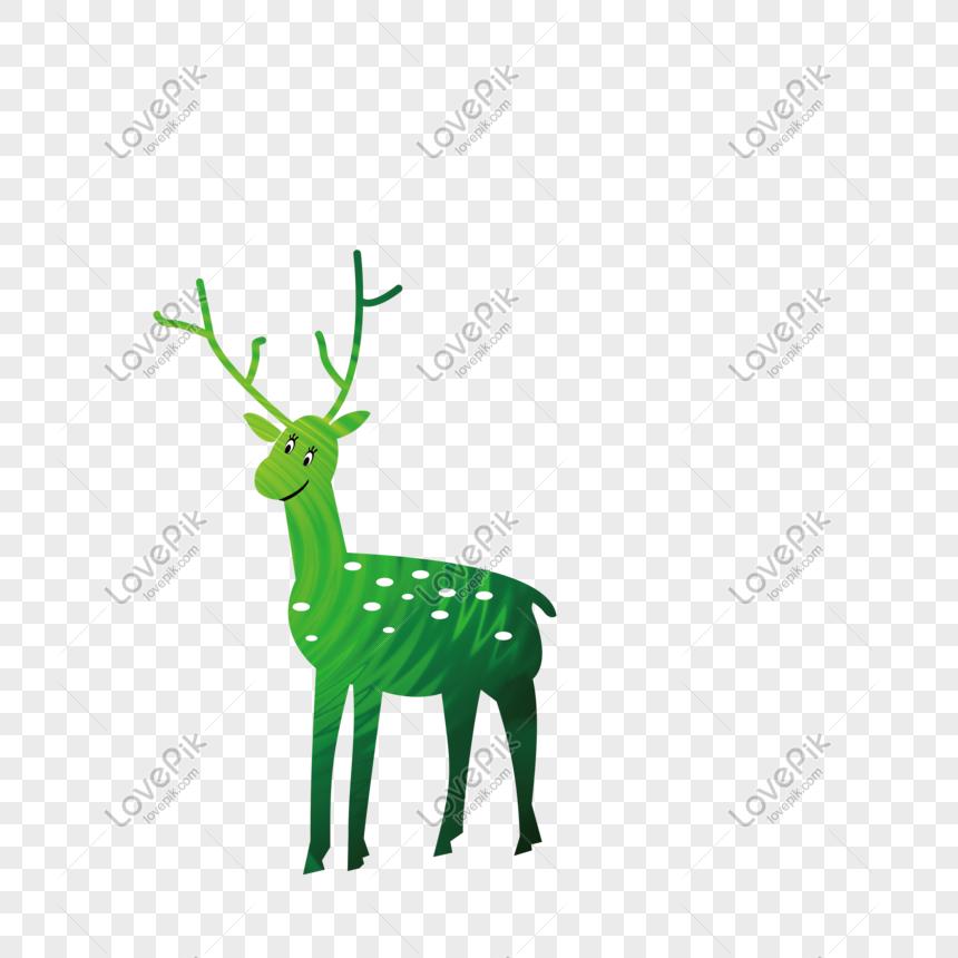 el ciervo verde