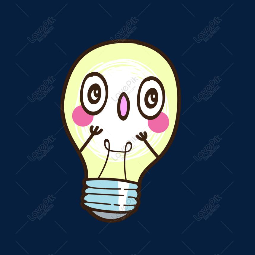 Bahan Gambar Lampu Animasi Bahan Vektor Bola Lampu Kartun Png Grafik Gambar Unduh Gratis Lovepik