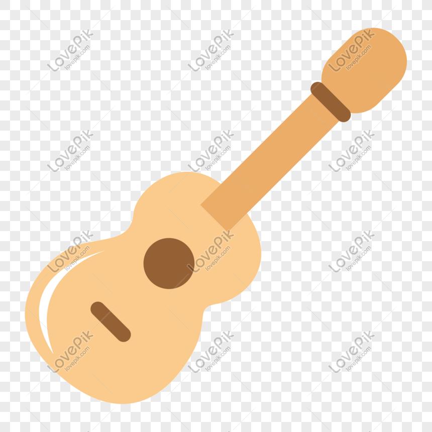 Cartoon Vector Minimalista Sinal De Guitarra Dos Desenhos Animad