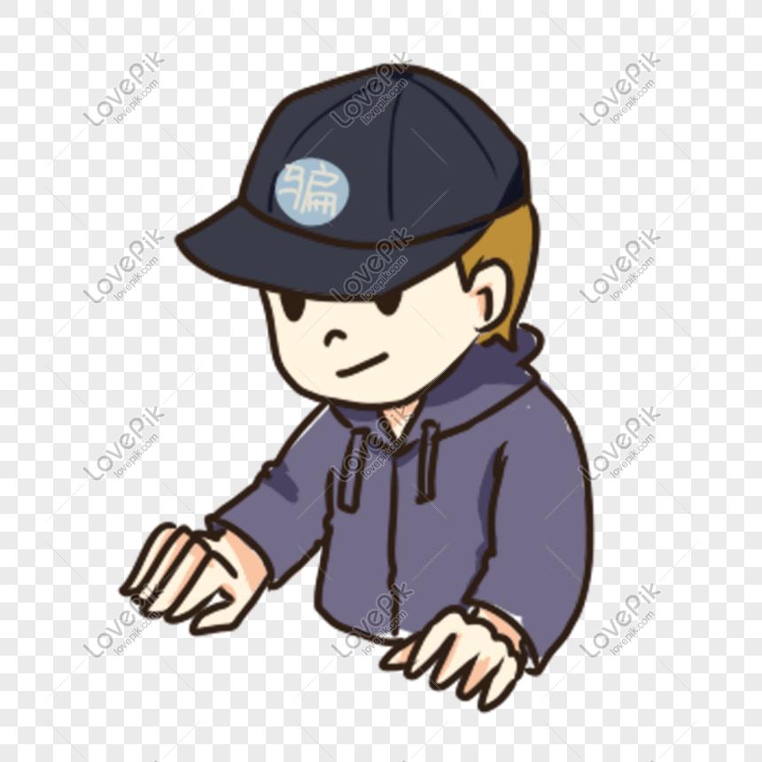 Kartun Tangan Budak Lelaki Tampan Yang Memakai Topi Gambar Unduh Gratis Imej 610562497 Format Psd My Lovepik Com