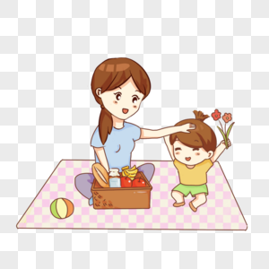 330000 Cartoon Mother And Daughter Hd Photos Free Download Lovepik Com