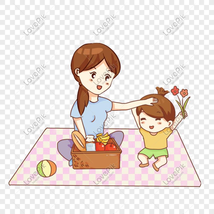 Tangan Kartun Ibu Dan Anak Perempuan Yang Ditarik Tangan Gambar Unduh Gratis Imej 610567417 Format Psd My Lovepik Com