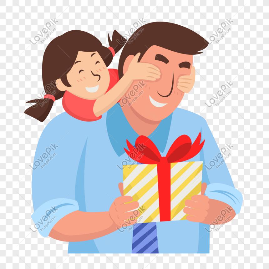 Bahan Kartun Ayah Dan Anak Perempuan Kartun Gambar Unduh Gratis Imej 610569840 Format Psd My Lovepik Com