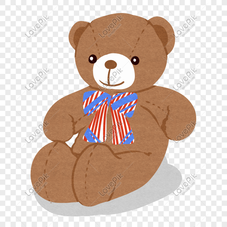 childrens day bear plush toy png