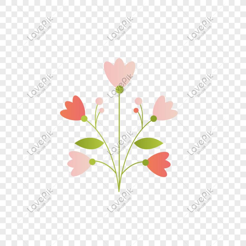 Pola Bunga Bunga Sederhana Gambar Unduh Gratis Grafik