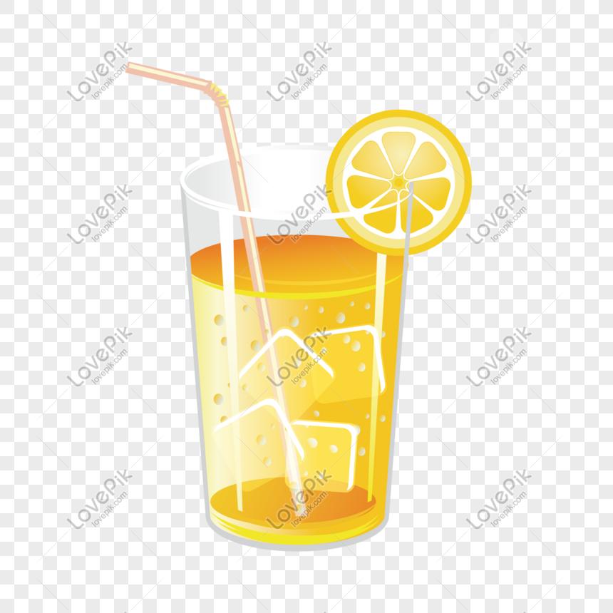 kartun tangan ditarik es teh lemon png grafik gambar unduh gratis lovepik kartun tangan ditarik es teh lemon png