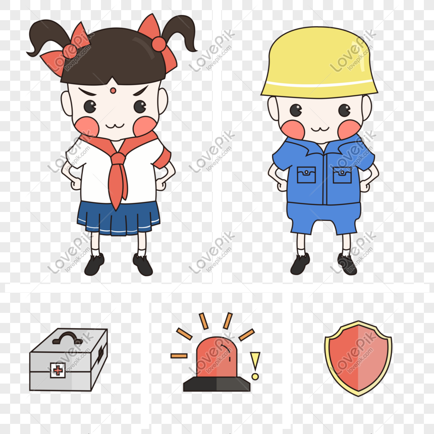Child Safety Education Simple Flat Style Cartoon Cute Character Png Image Picture Free Download 610688344 Lovepik Com