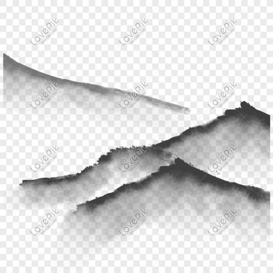 80+ Gambar Pemandangan Gunung Hitam Putih Kekinian