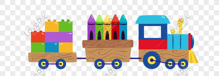 Lukisan Hari Kanak Kanak Kartun Reka Bentuk Kereta Api Kecil Gambar Unduh Gratis Imej 610710626 Format Psd My Lovepik Com