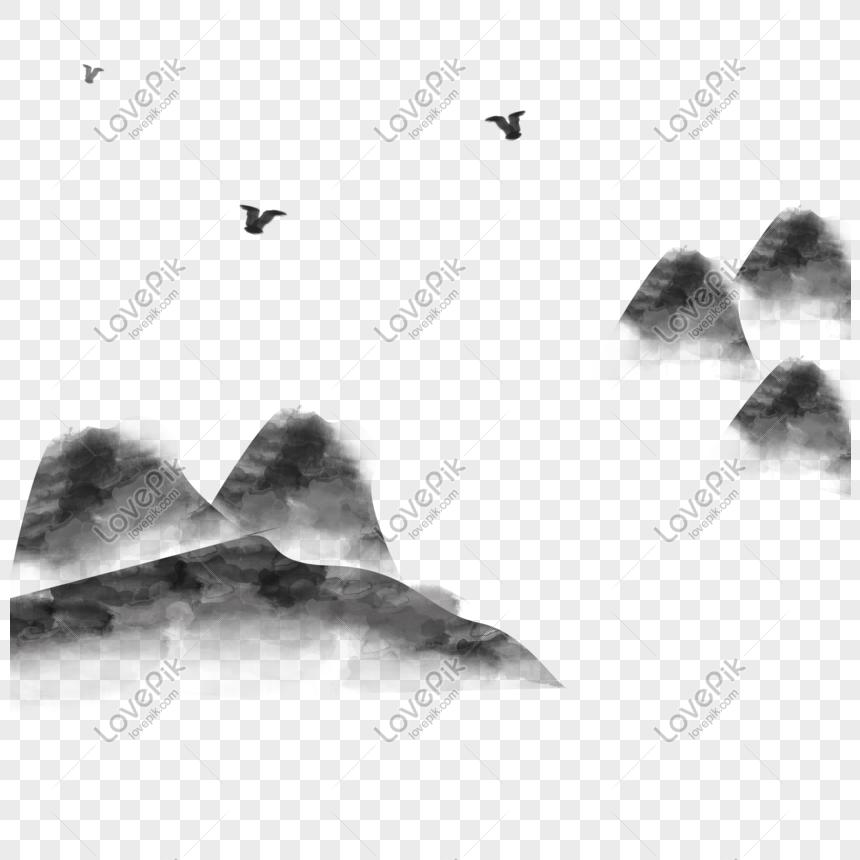 9400 Gambar Lukisan Pemandangan Alam Hitam Putih HD
