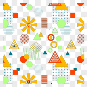 Memphis pattern png image_picture free download