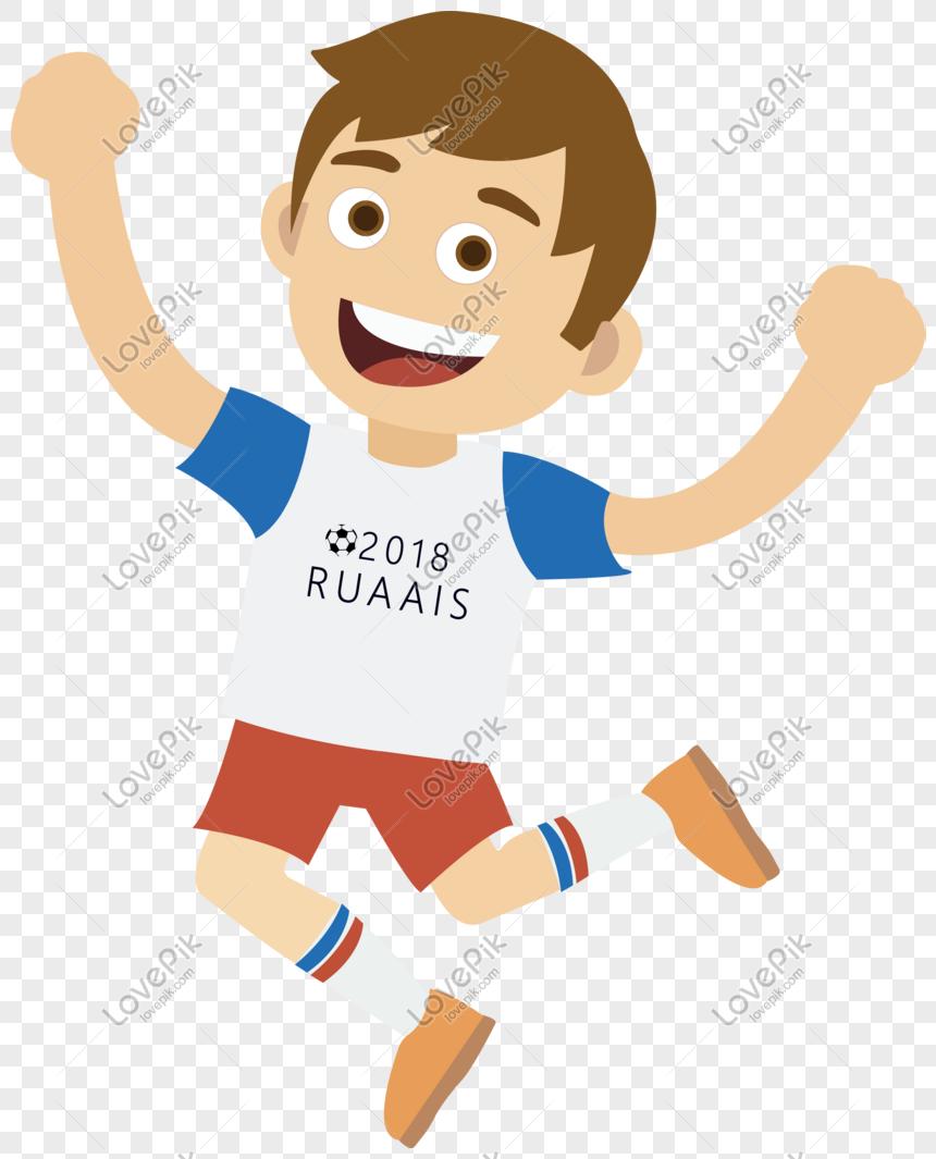 Dunia Sepak Bola Rusia Piala Dunia Vektor Pemain Gambar
