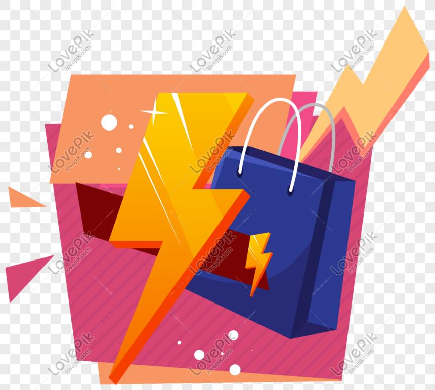 hot sale promotion label element png