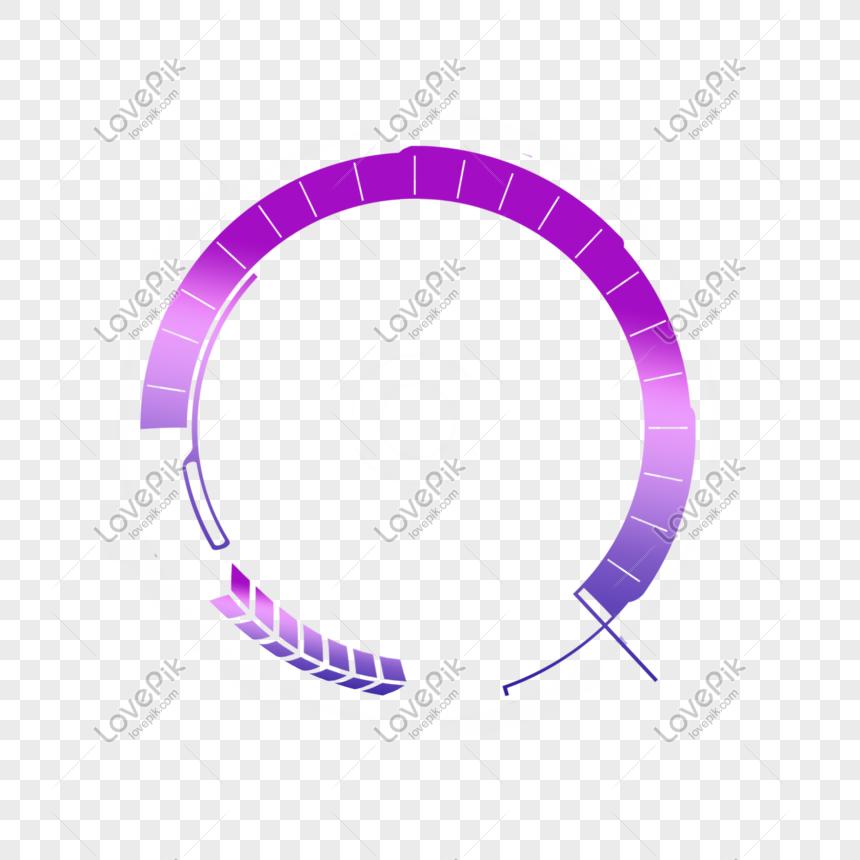 creative purple round border element png image picture free download 610756116 lovepik com lovepik