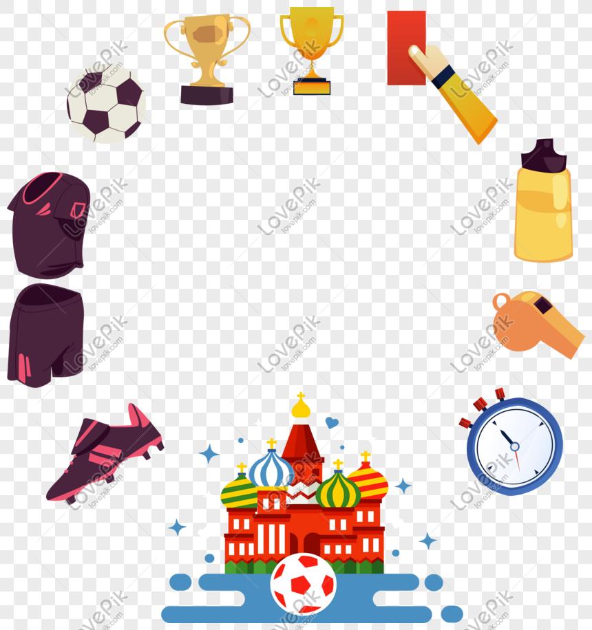 Piala Dunia Rusia Memasok Perbatasan Gambar Unduh Gratis