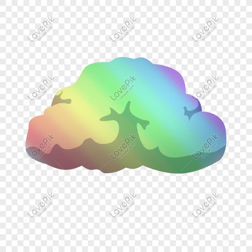 Bảy Màu Mây đẹp Hình ảnh định Dạng Hình ảnh Psd 610794242