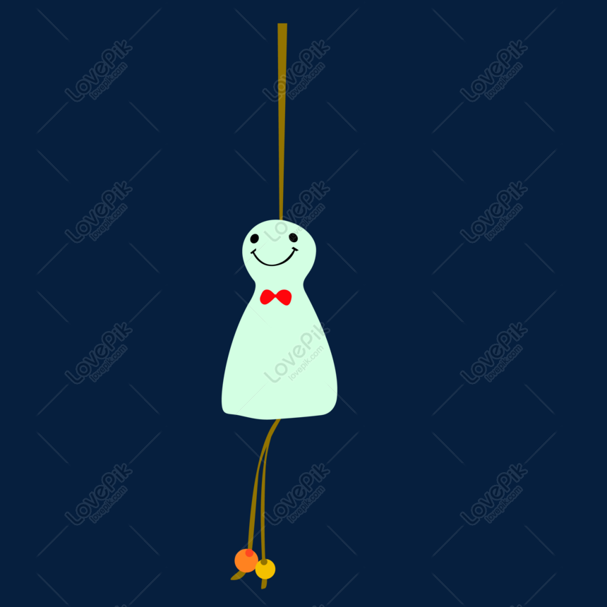 japanese small fresh wind chimes vector png