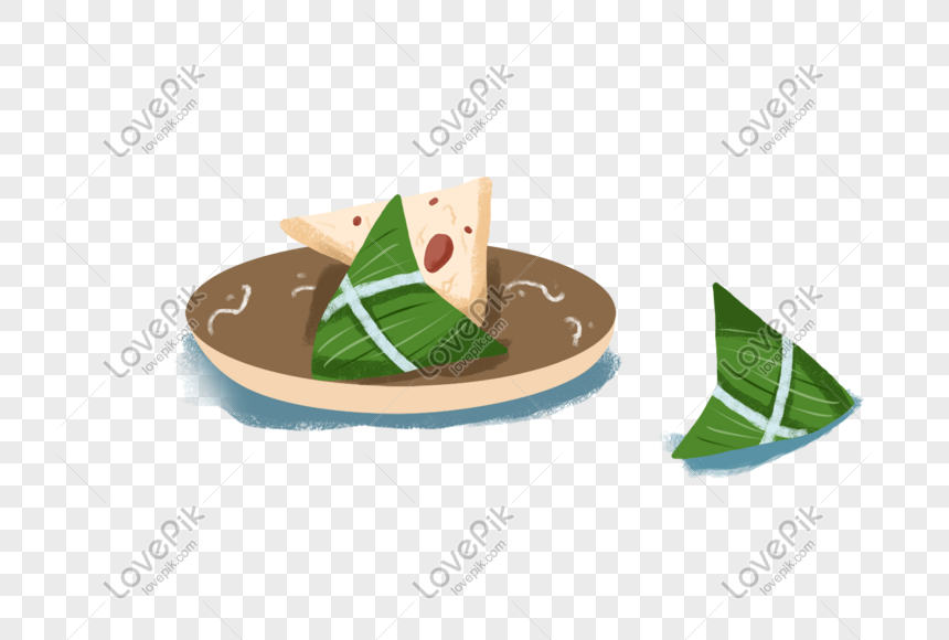 Makanan Tradisional Kartun Tema Dadu Gambar Unduh Gratis Imej