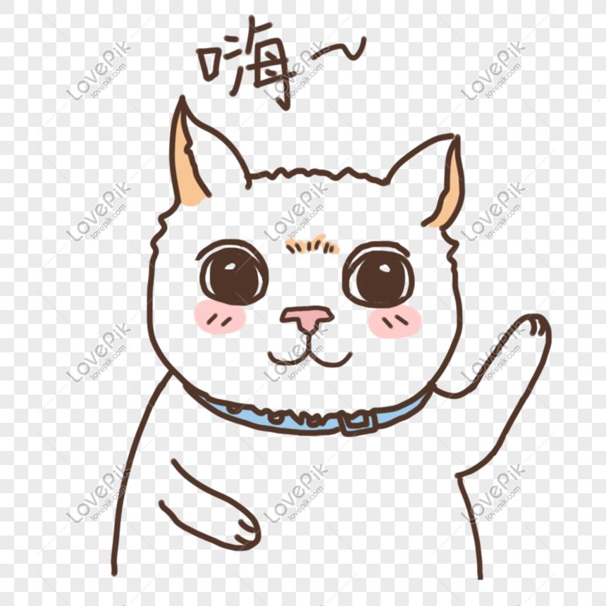 式嗨子猫イラストイメージ グラフィックス Id 610803250 Prf画像