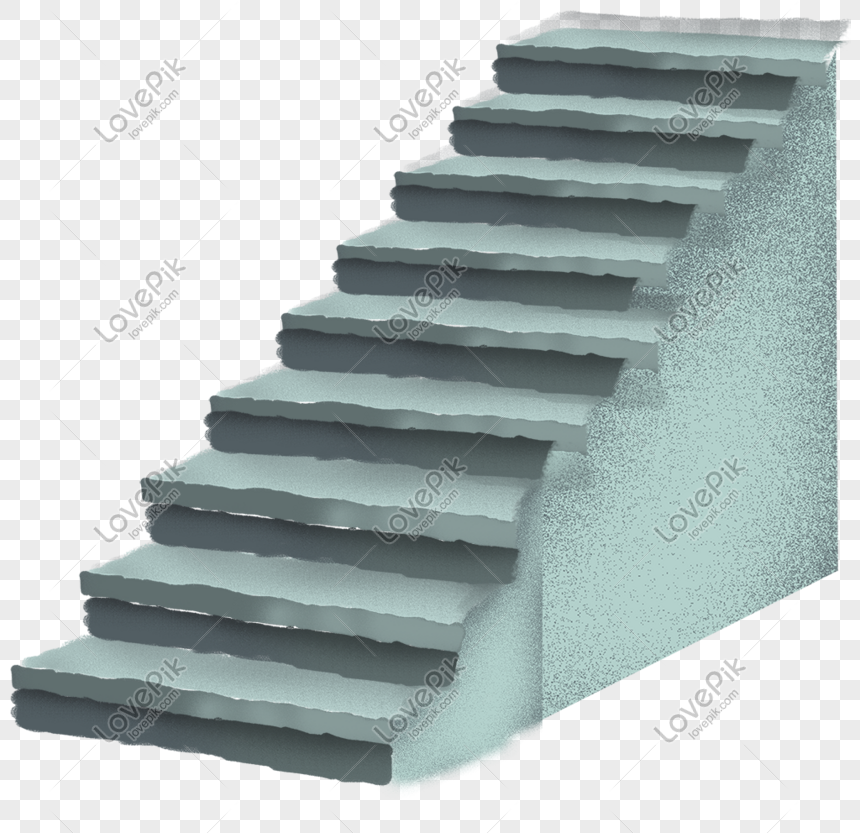 Cartoon Hand Drawn Watercolor Stair Design Png Image Picture Free Download 610807983 Lovepik Com
