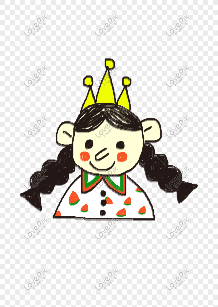Hand Painted Cartoon Crown Girl Png Material Png Image Picture Free Download 610807411 Lovepik Com 135,092 crown cartoons on gograph. hand painted cartoon crown girl png