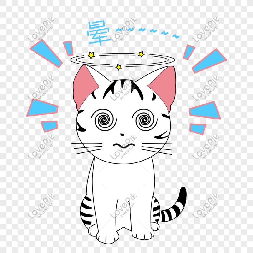 Unduh 67+  Gambar Kucing Pusing Terbaru