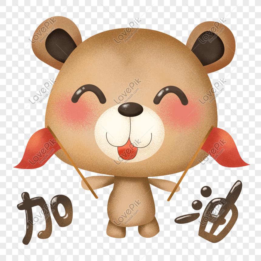Paket Ekspresi Kartun Boneka Beruang Lucu Png Grafik Gambar Unduh Gratis Lovepik