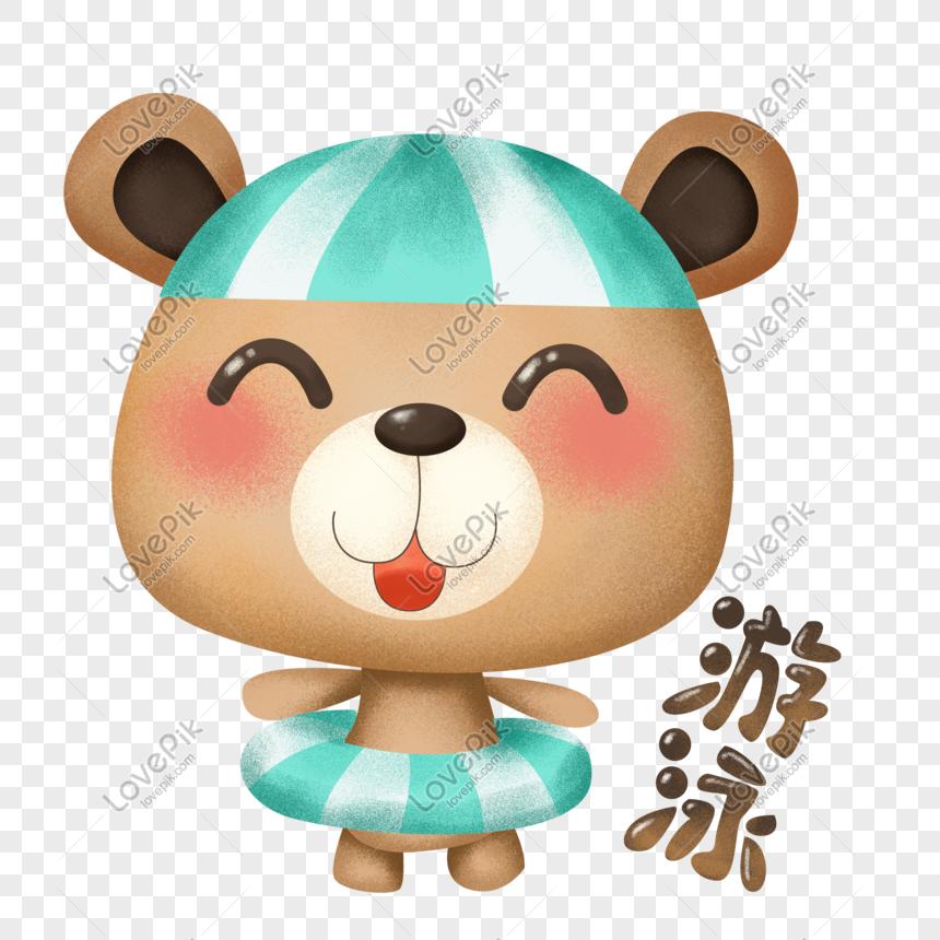 Paket Ekspresi Beruang Kartun Boneka Lucu Boneka Png Grafik Gambar Unduh Gratis Lovepik