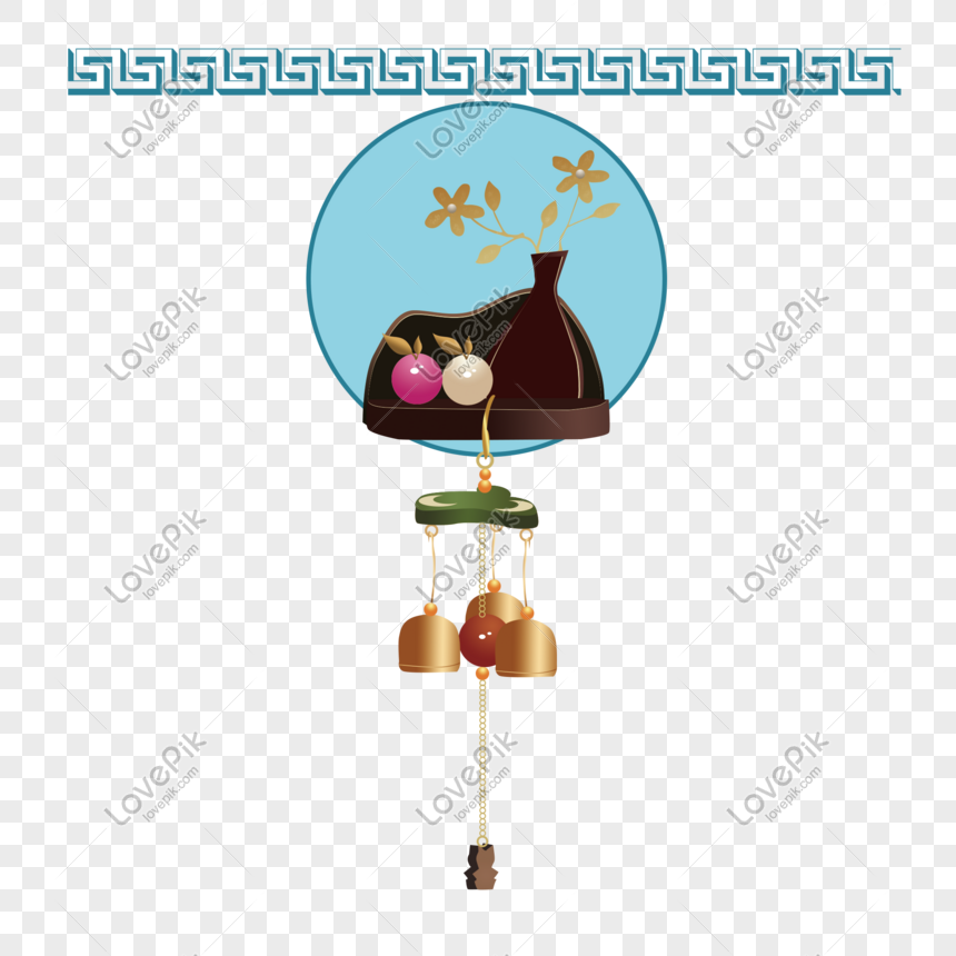 wind chimes crafts wind chimes hand painted png