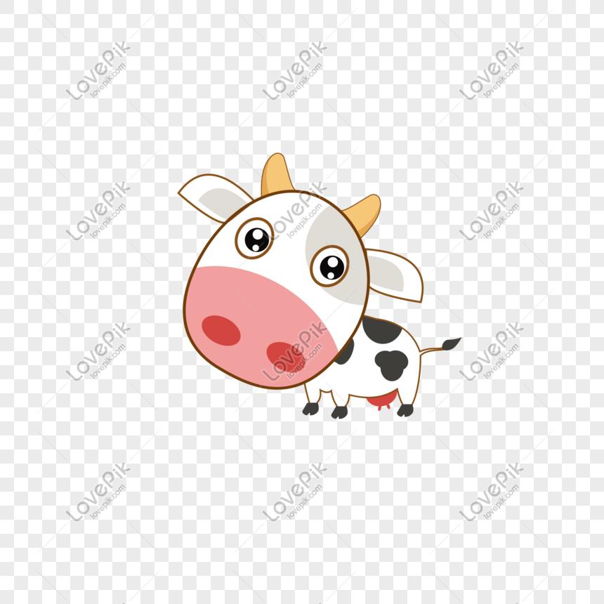 Kartun Comel Comel Hitam Dan Putih Lembu Gambar Unduh Gratis Imej 610854375 Format Psd My Lovepik Com