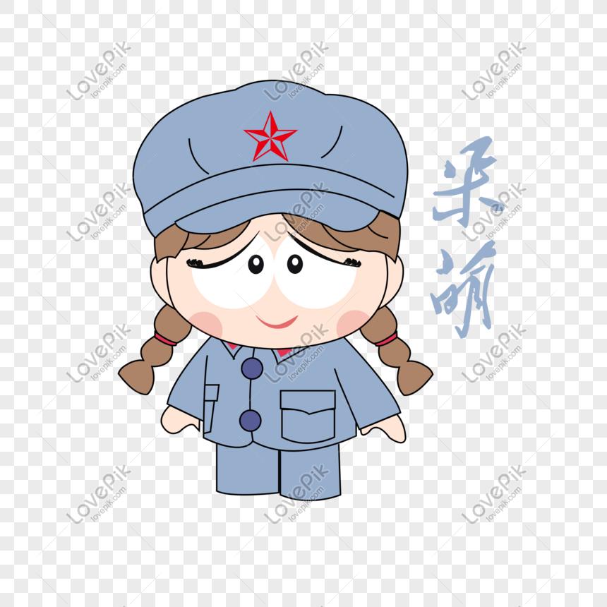 Gambar Kartun Wanita Yang Lagi Sedih Kartun Tangan Melukis Tujuh Askar Wanita Yang Tinggal Pek Ekspre Gambar Unduh Gratis Imej 610859098 Format Psd My Lovepik Com