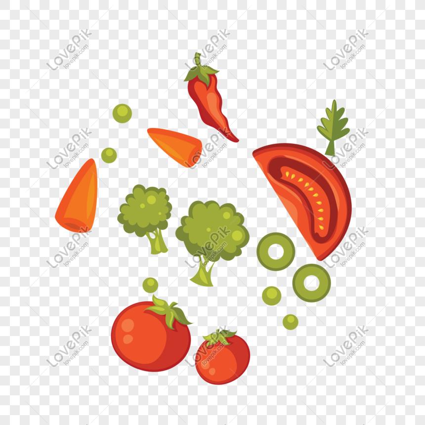 Material De Decoración De Ensalada De Frutas Y Verduras De