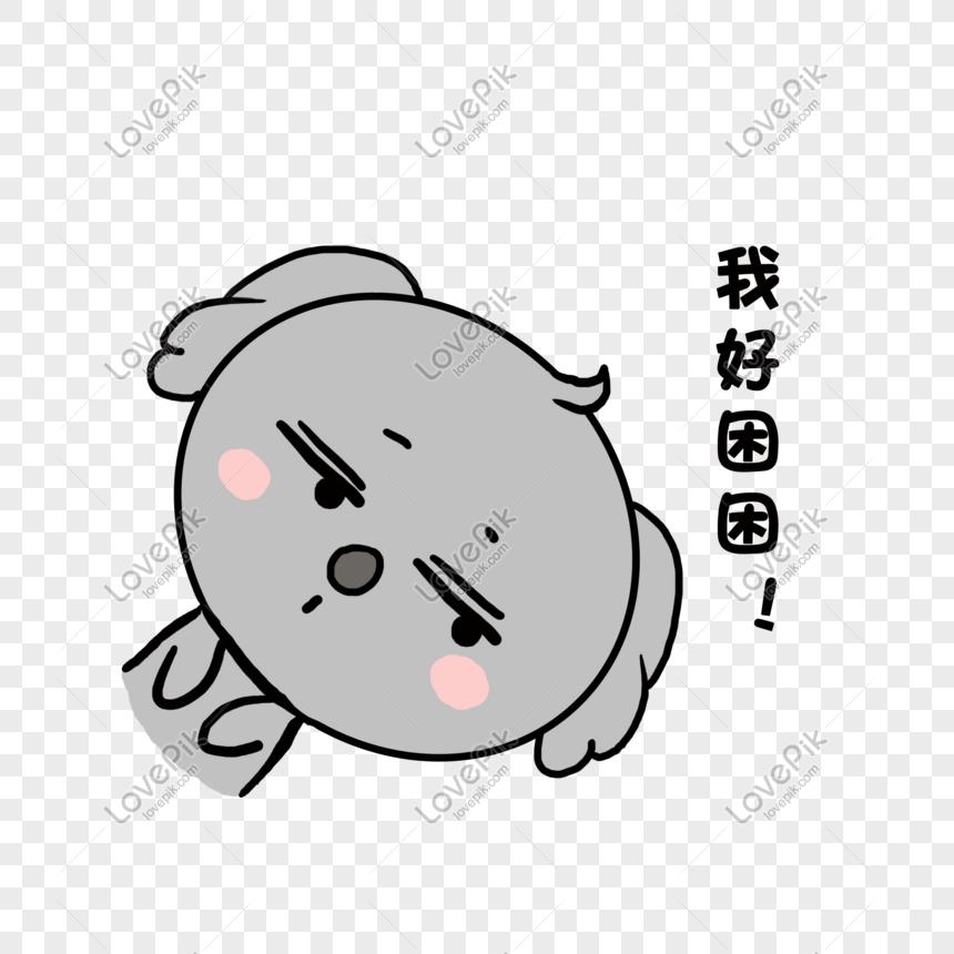 Kucuk Taze Hayvan El Boyamasi Sevimli Koala Uykulu Resim Grafik
