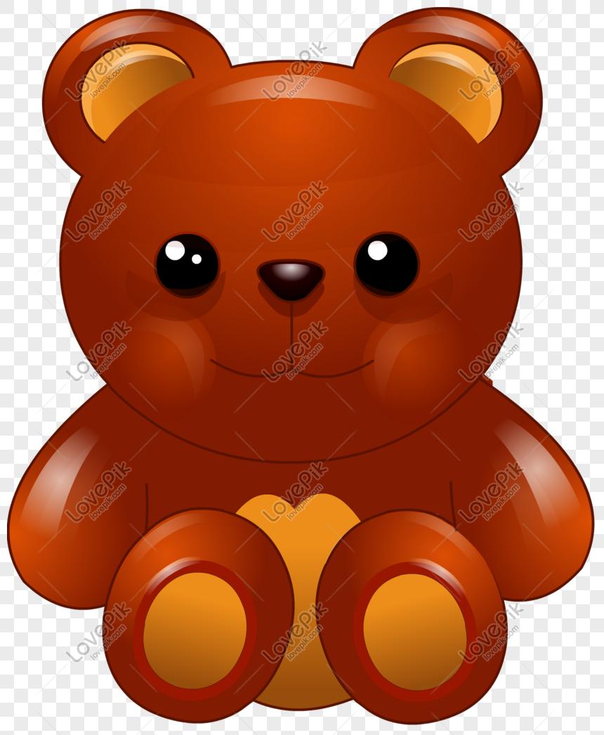 Beruang Kartun A Vektor Gambar Unduh Gratis Imej