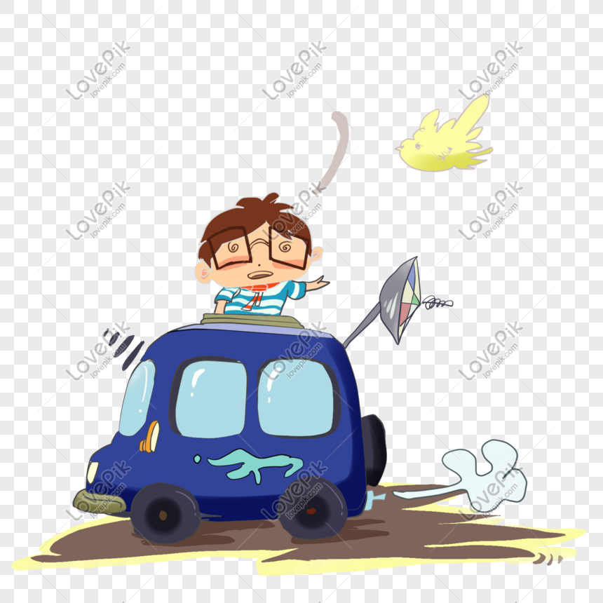 cartoon hand painted self driving tour fresh self driving tour png