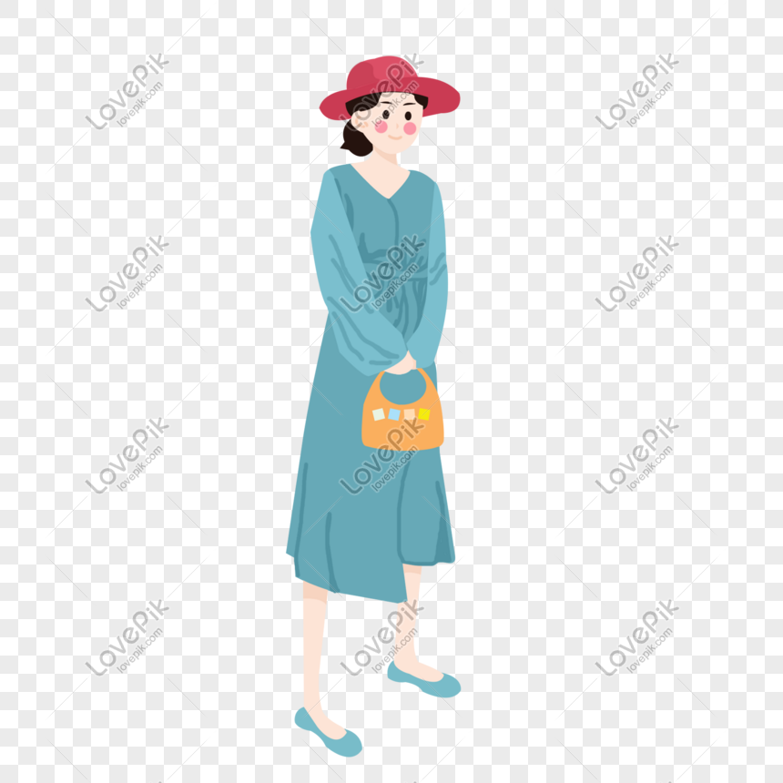 beautiful summer clothing with materials png