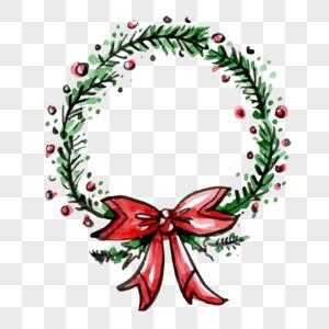Watercolor Christmas Wreath Png.Watercolor Christmas Wreath Images 47574 Watercolor
