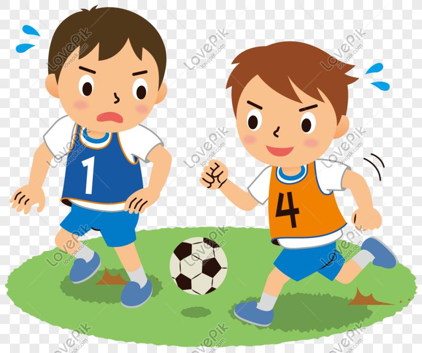 Soho Blog's: gambar anak bermain sepak bola kartun | New ...