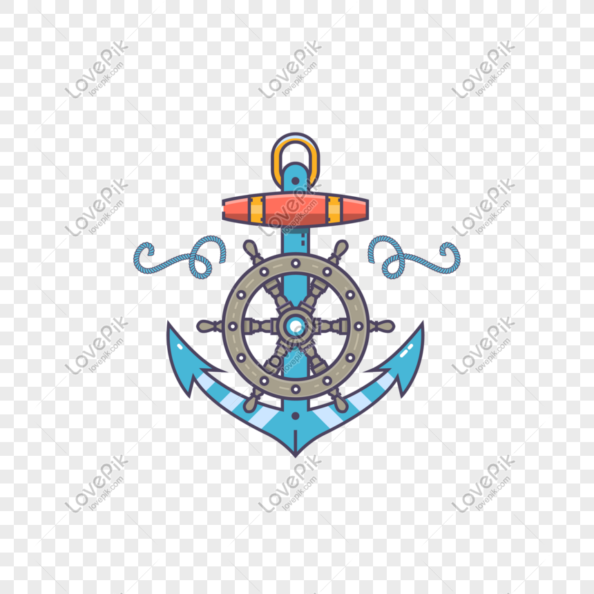 mbe style cute illustration helmsman iron anchor png image picture free download 610911128 lovepik com mbe style cute illustration helmsman
