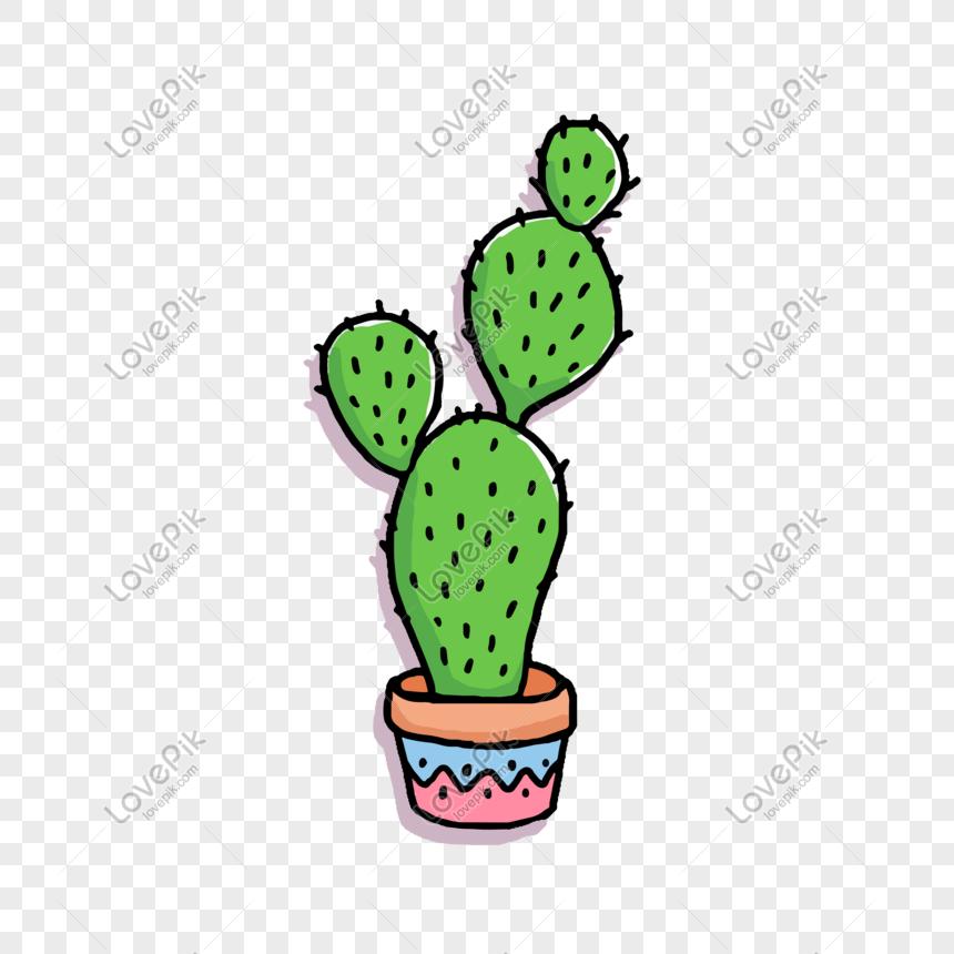 Cartoon Cactus Png Png Image Picture Free Download 610912343 Lovepik Com